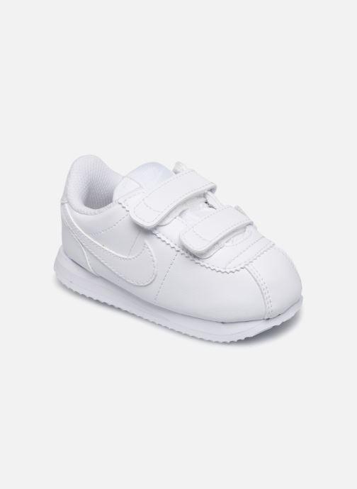 Baskets Nike Cortez Basic Sl (Tdv) Blanc vue détail/paire