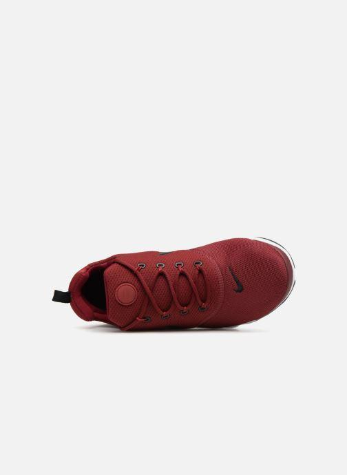 Sneaker Nike Presto Fly (Gs) rot ansicht von links