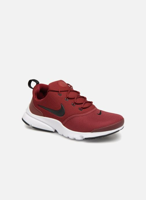 huge discount fc050 fc94a Baskets Nike Presto Fly (Gs) Rouge vue détail paire