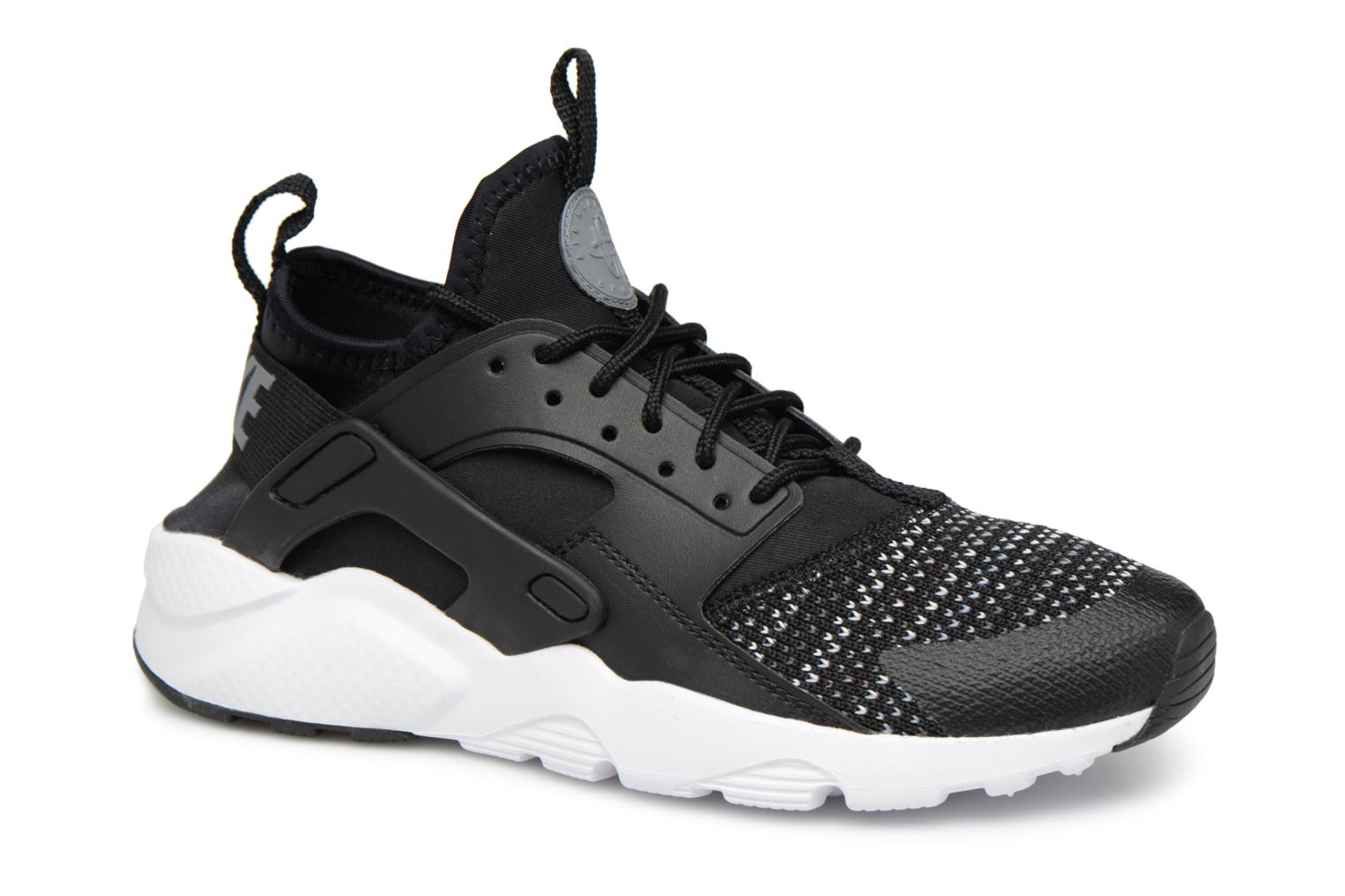 Baskets Nike Air Huarache Run Ultra Se (Gs) Noir vue détail/paire