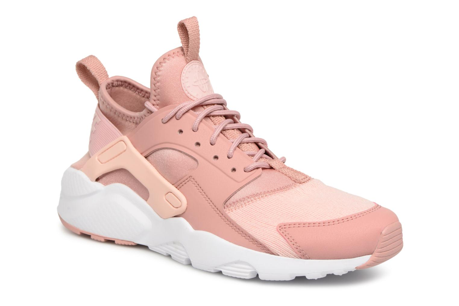 60c1dc93ccad ... usa baskets nike air huarache run ultra se gs rose vue détail paire  49c30 f4b0d