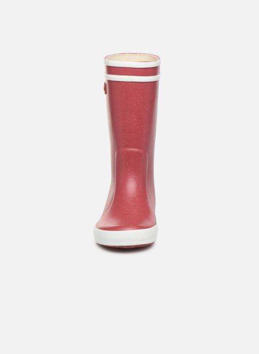 Boots & wellies Aigle Lolly Pop Glit Burgundy model view