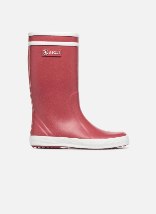 Boots & wellies Aigle Lolly Pop Glit Burgundy back view