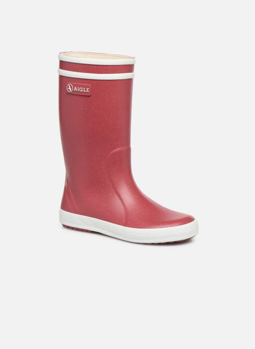 Boots & wellies Aigle Lolly Pop Glit Burgundy detailed view/ Pair view