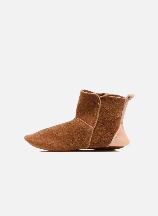 Pantofole Hippie Ya Vic Marrone immagine frontale