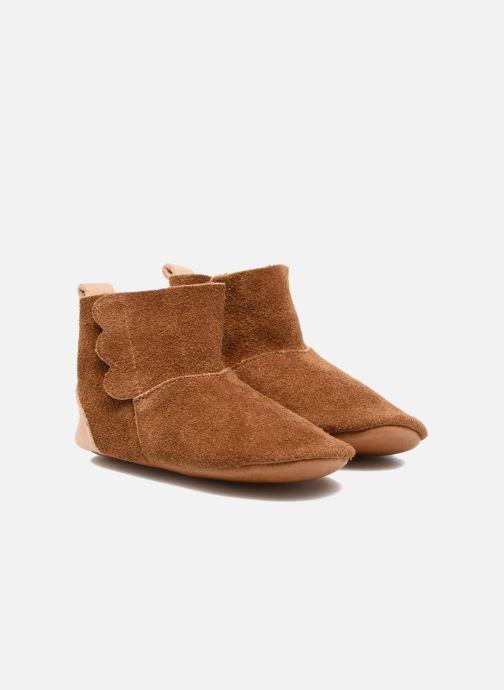 Pantofole Hippie Ya Vic Marrone vedi dettaglio/paio