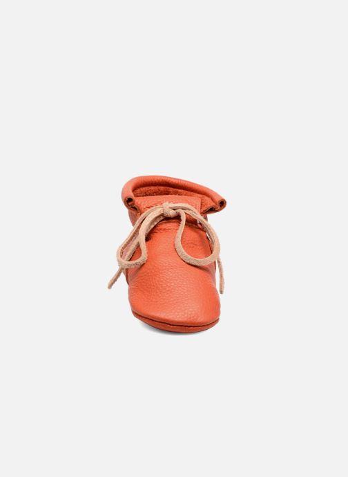 Chaussons Hippie Ya Booties Orange vue portées chaussures