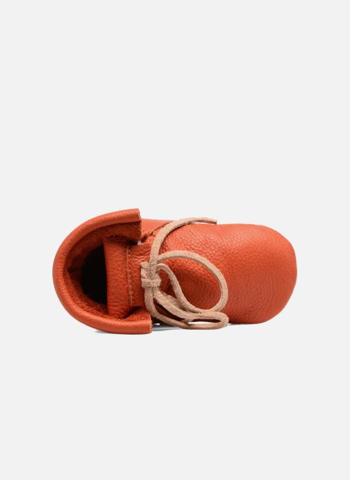 Slippers Hippie Ya Booties Orange view from the left