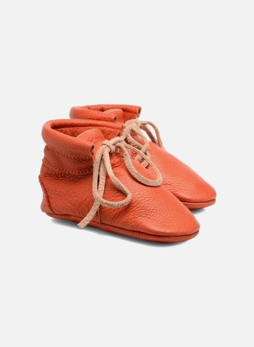 Chaussons Hippie Ya Booties Orange vue détail/paire