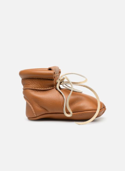 Pantofole Hippie Ya Booties Marrone immagine posteriore