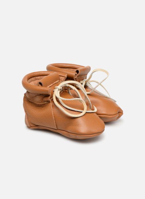 Pantofole Hippie Ya Booties Marrone vedi dettaglio/paio