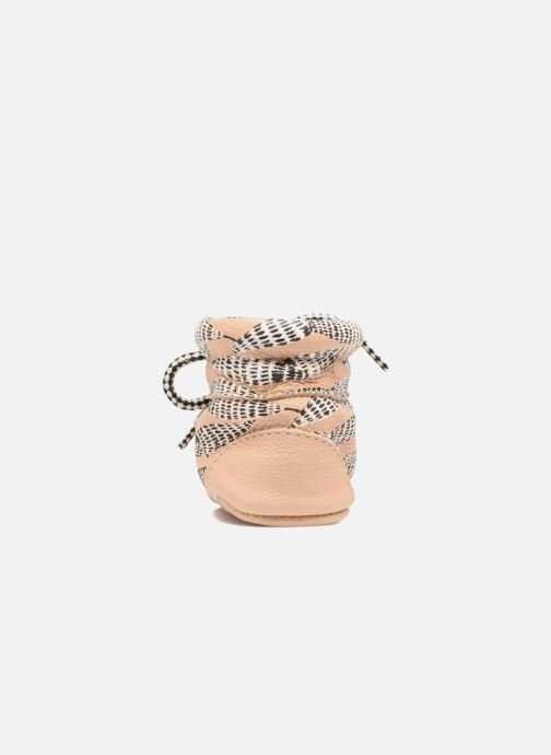 Chaussons Hippie Ya Booties Collab HY & Moumout Beige vue droite
