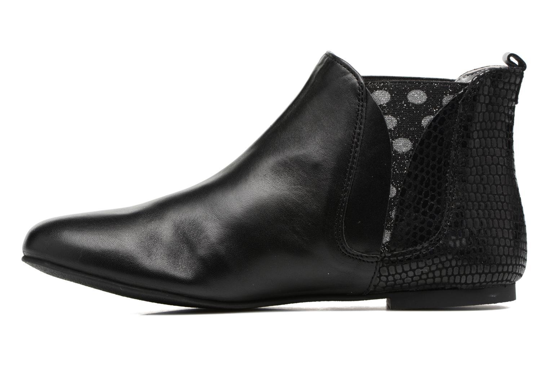 Bottines et boots Ippon Vintage Patch dots Noir vue face