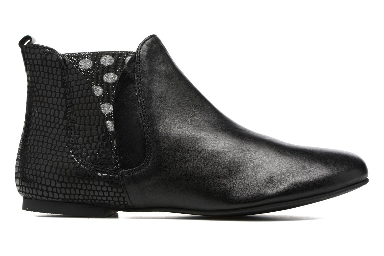 Bottines et boots Ippon Vintage Patch dots Noir vue derrière