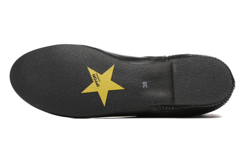 Bottines et boots Ippon Vintage Patch dots Noir vue haut