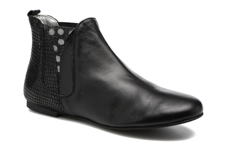 Bottines et boots Ippon Vintage Patch dots Noir vue détail/paire
