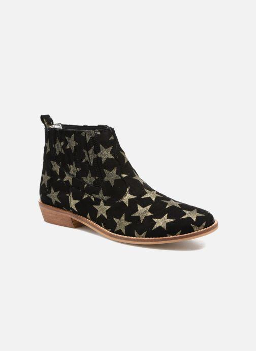 Bottines et boots Ippon Vintage Good sky Or et bronze vue détail/paire