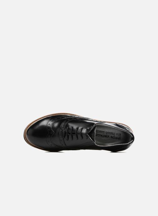 Chaussures à lacets Ippon Vintage Andy Thick Noir vue gauche
