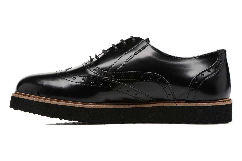 Chaussures à lacets Ippon Vintage Andy Thick Noir vue face