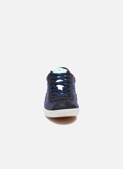 Sneakers Ippon Vintage Captain Fame Azzurro modello indossato