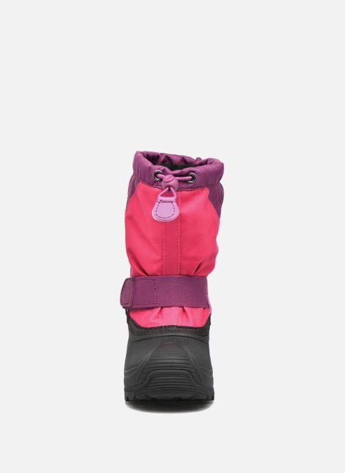 Chaussures de sport Kamik Snowtraxg Rose vue portées chaussures