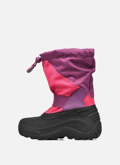 Zapatillas de deporte Kamik Snowtraxg Rosa vista de frente