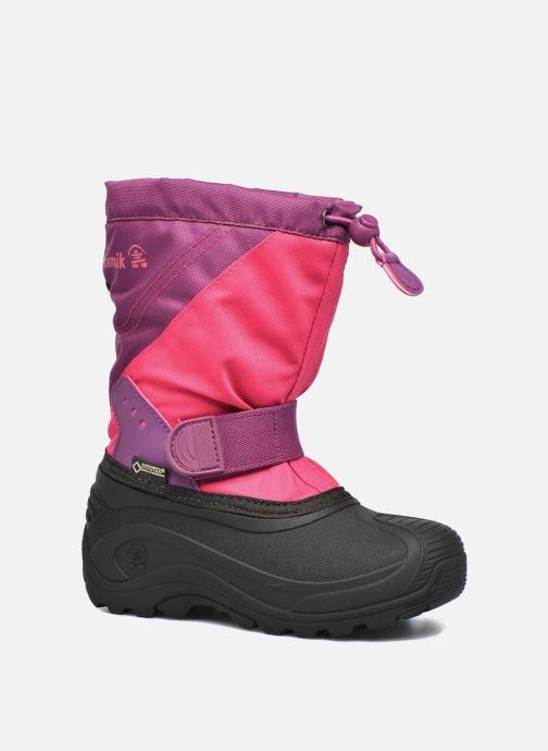 Chaussures de sport Kamik Snowtraxg Rose vue détail/paire