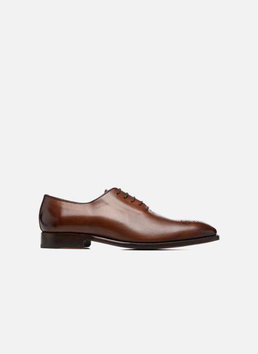 Chaussures à lacets Marvin&Co Luxe Waller - Cousu Goodyear Marron vue derrière