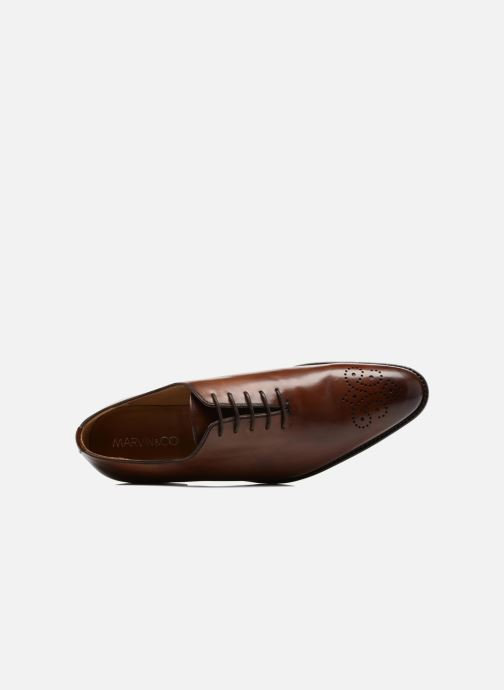 Chaussures à lacets Marvin&Co Luxe Waller - Cousu Goodyear Marron vue gauche