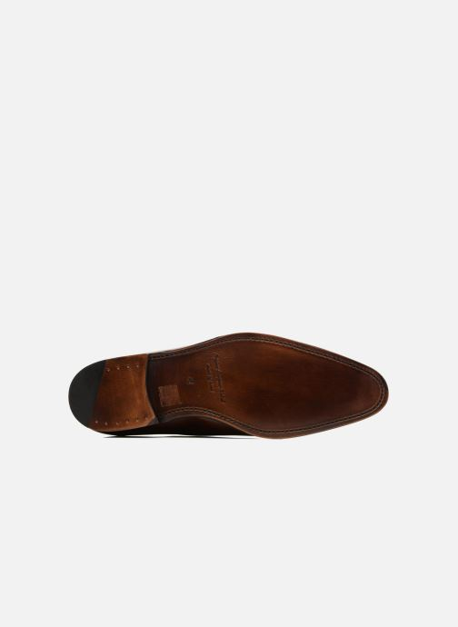 Chaussures à lacets Marvin&Co Luxe Waller - Cousu Goodyear Marron vue haut