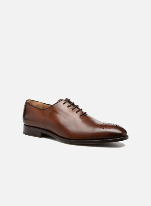 Chaussures à lacets Marvin&Co Luxe Waller - Cousu Goodyear Marron vue détail/paire