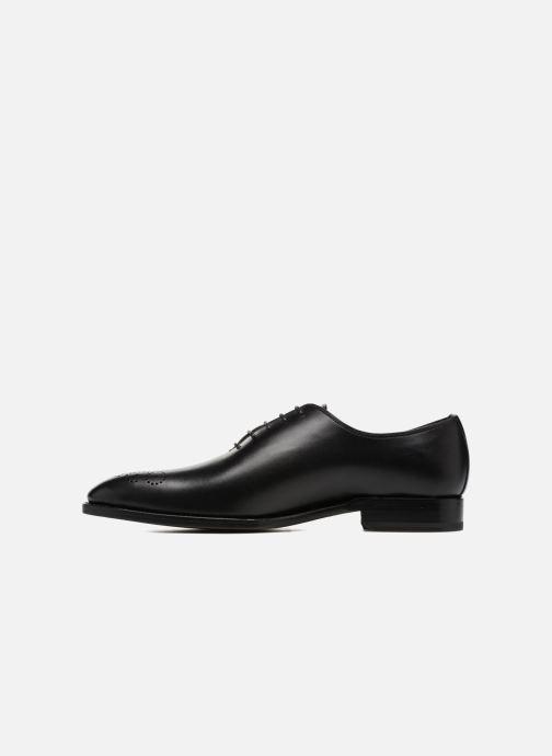 Zapatos con cordones Marvin&Co Luxe Waller - Cousu Goodyear Negro vista de frente