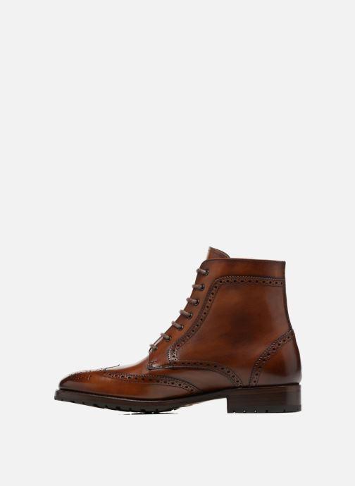 Boots en enkellaarsjes Marvin&Co Luxe Westner - Cousu Goodyear Bruin voorkant