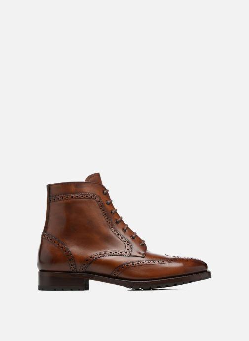Boots en enkellaarsjes Marvin&Co Luxe Westner - Cousu Goodyear Bruin achterkant