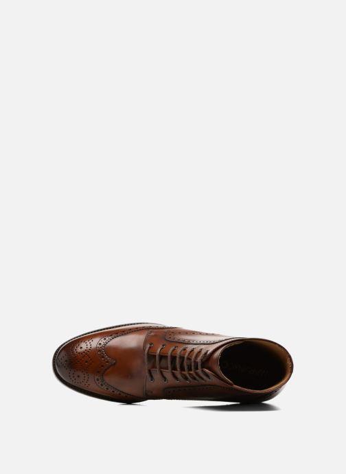 Bottines et boots Marvin&Co Luxe Westner - Cousu Goodyear Marron vue gauche