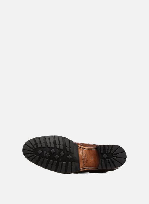 Bottines et boots Marvin&Co Luxe Westner - Cousu Goodyear Marron vue haut