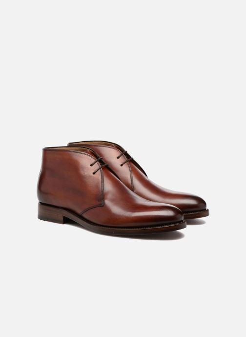 Boots en enkellaarsjes Marvin&Co Luxe Willston - Cousu Goodyear Bruin 3/4'