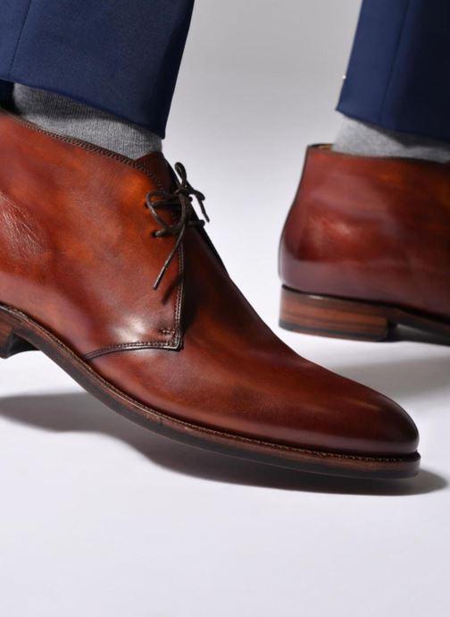 Boots en enkellaarsjes Marvin&Co Luxe Willston - Cousu Goodyear Bruin onder