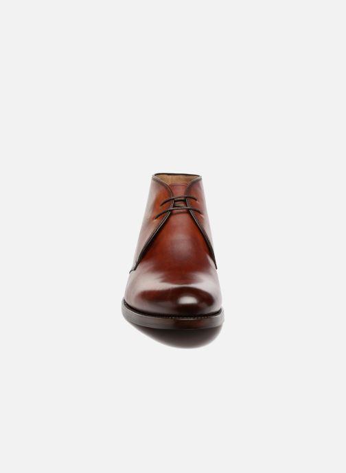 Boots en enkellaarsjes Marvin&Co Luxe Willston - Cousu Goodyear Bruin model