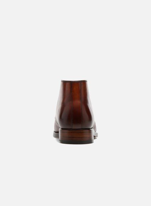 Boots en enkellaarsjes Marvin&Co Luxe Willston - Cousu Goodyear Bruin rechts