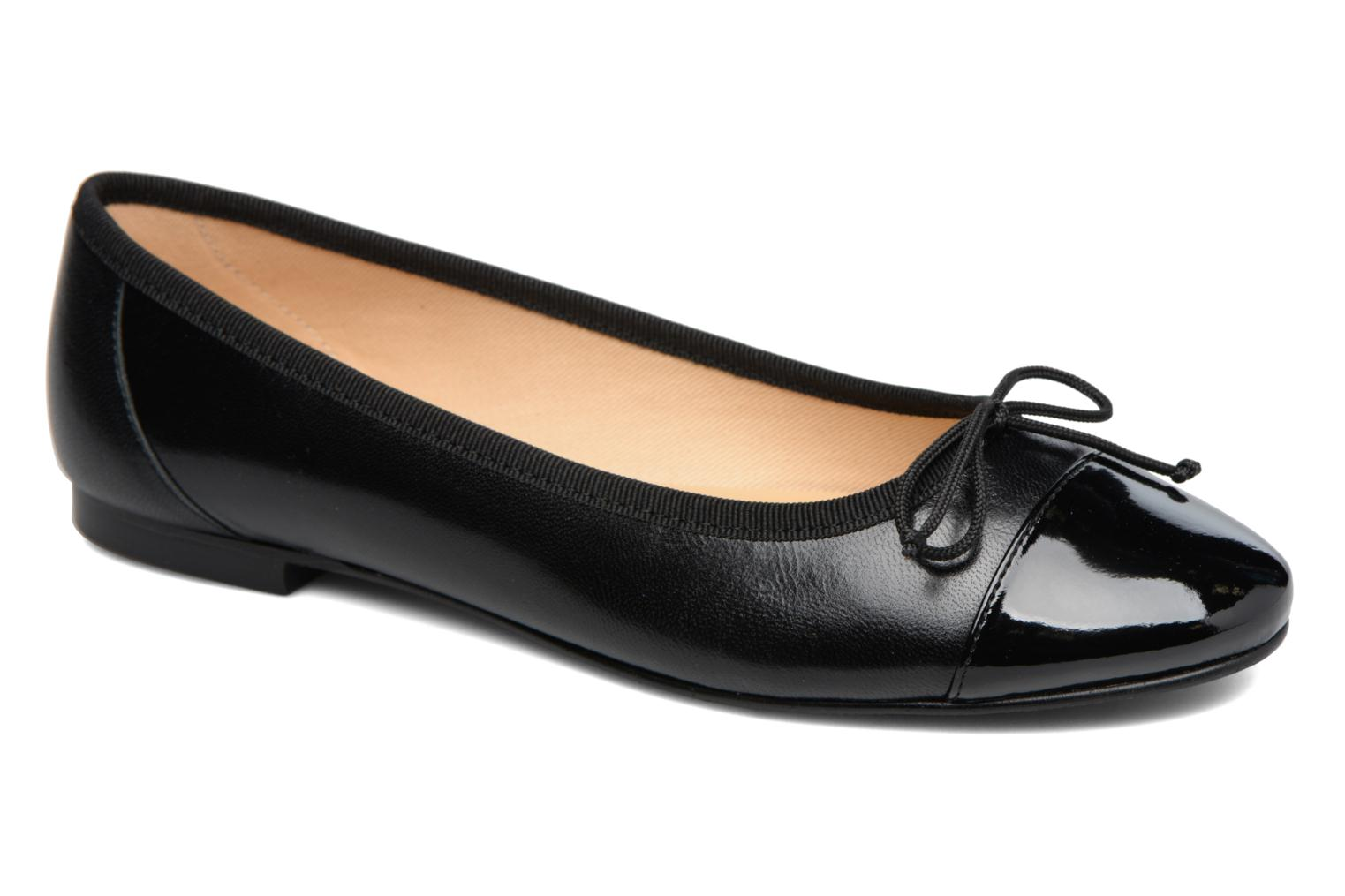 Ballet pumps Georgia Rose Sixties Black detailed view/ Pair view