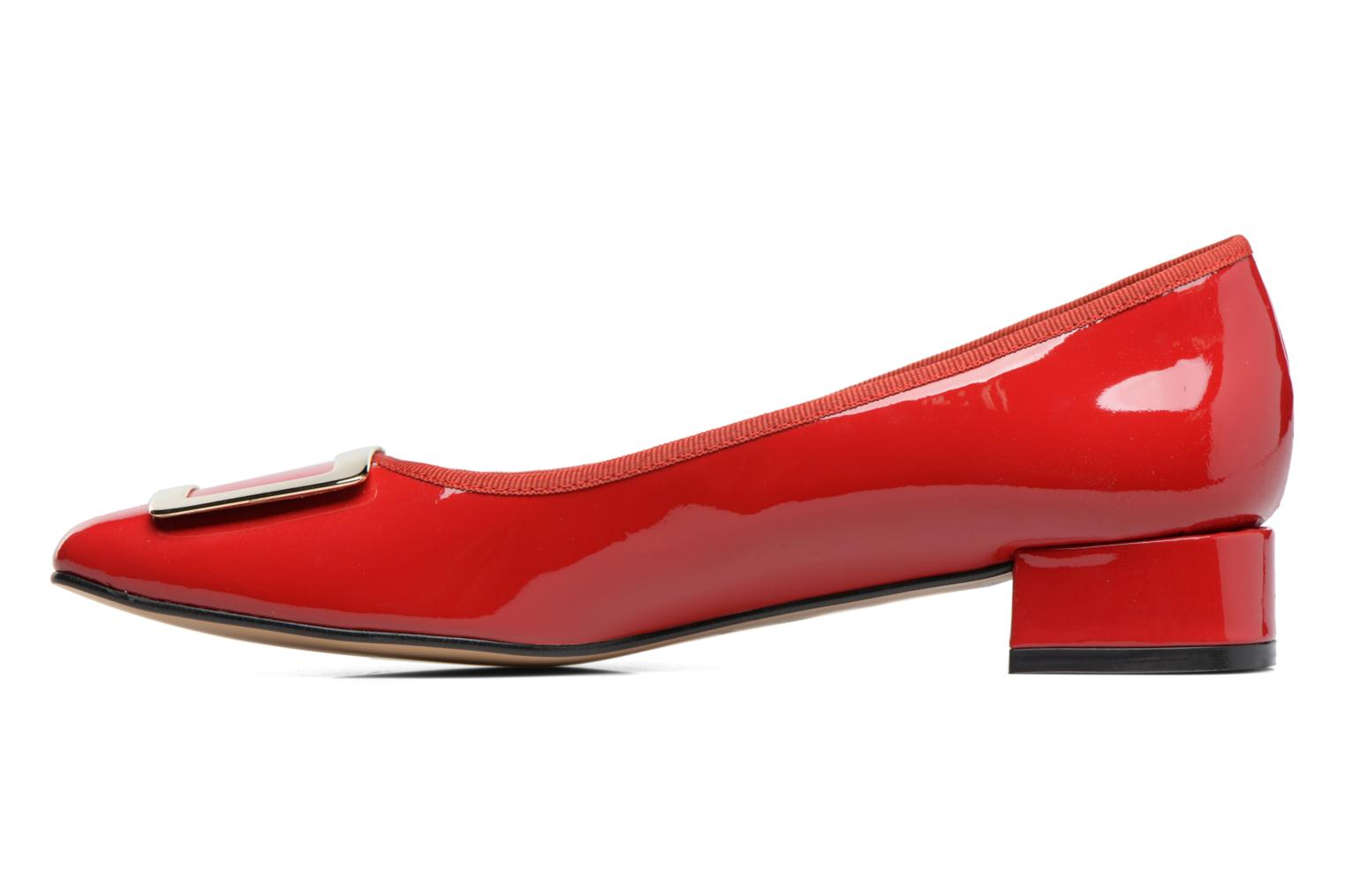 Ballet pumps Georgia Rose Saboucle Red front view