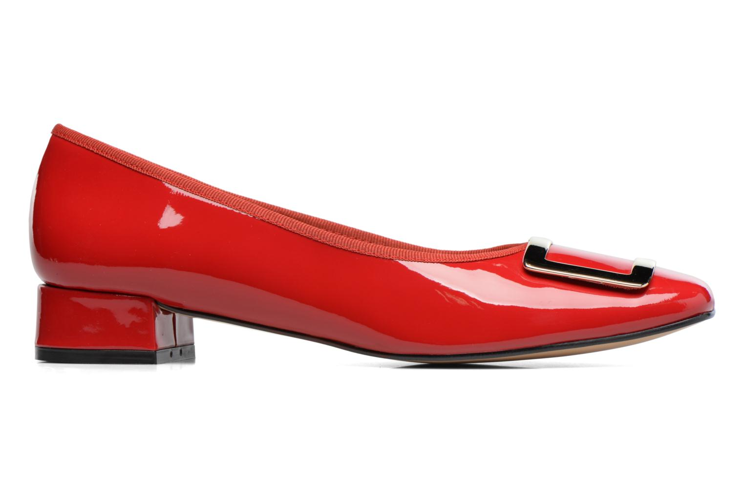 Ballet pumps Georgia Rose Saboucle Red back view