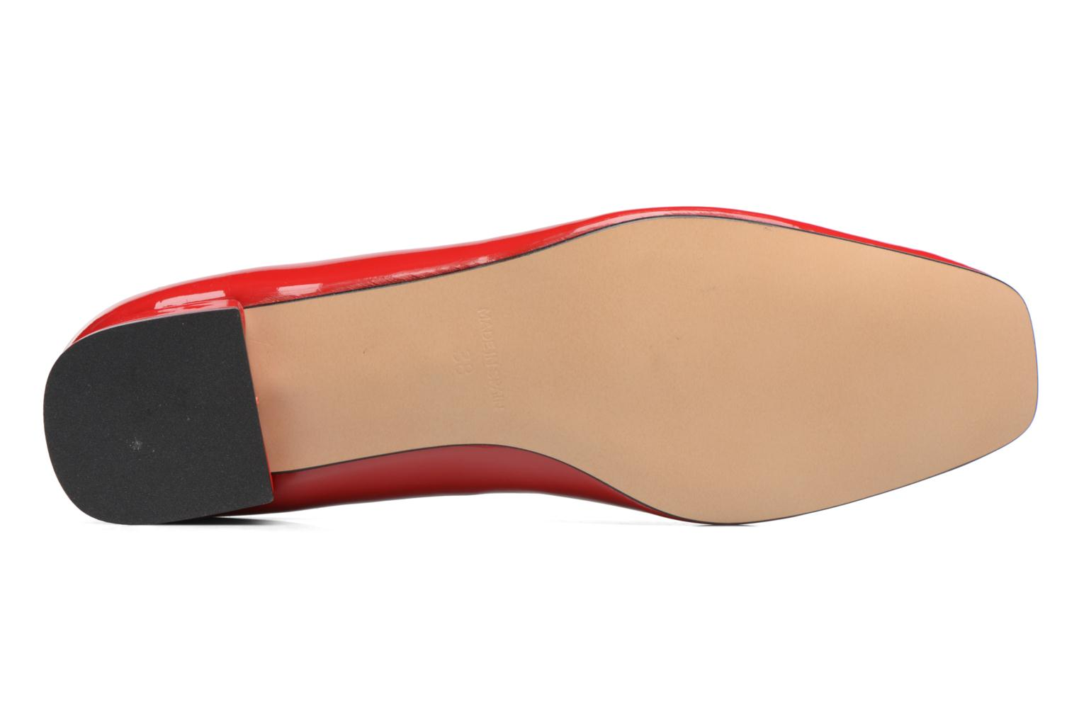 Ballet pumps Georgia Rose Saboucle Red view from above