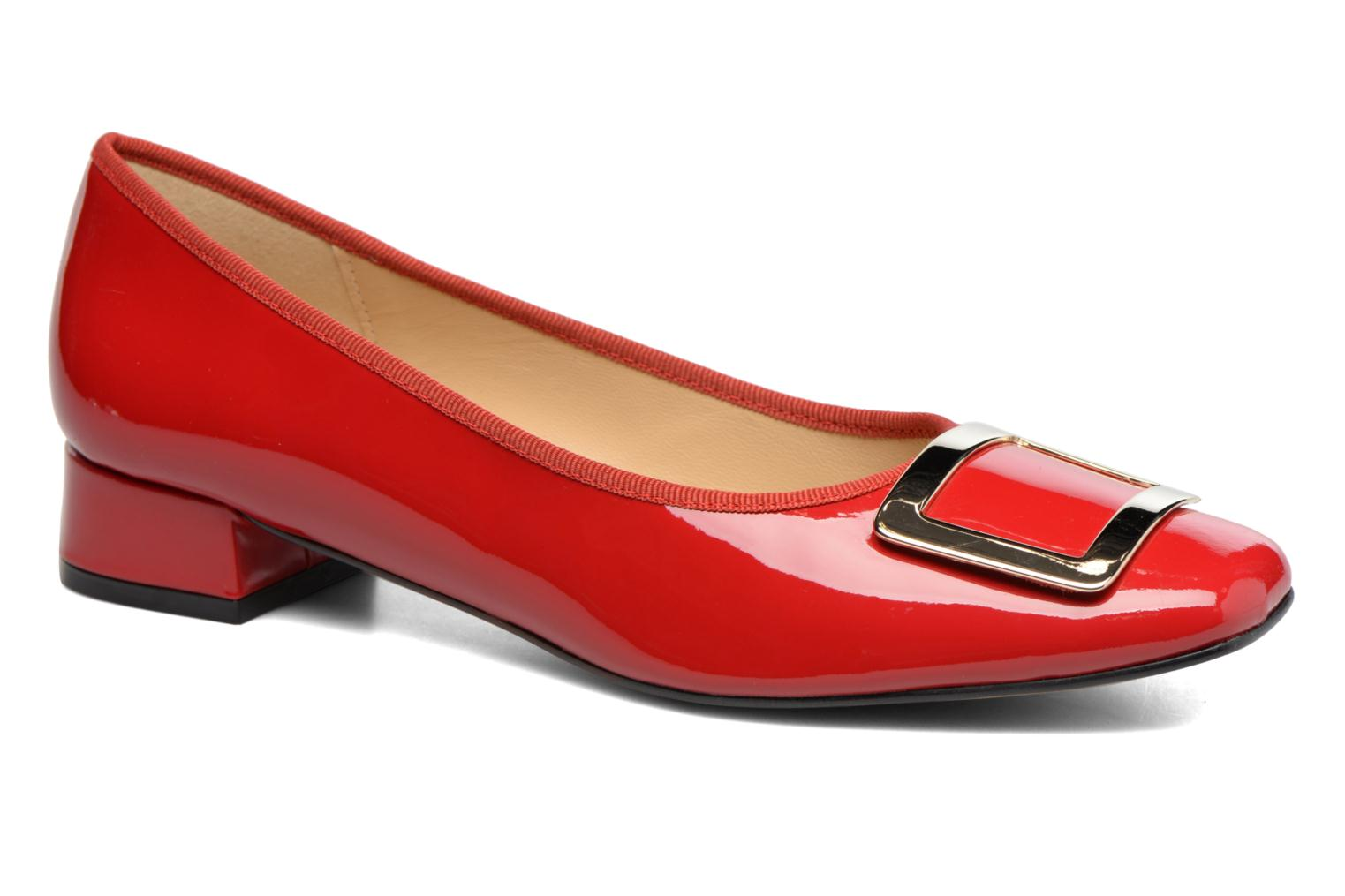 Ballet pumps Georgia Rose Saboucle Red detailed view/ Pair view