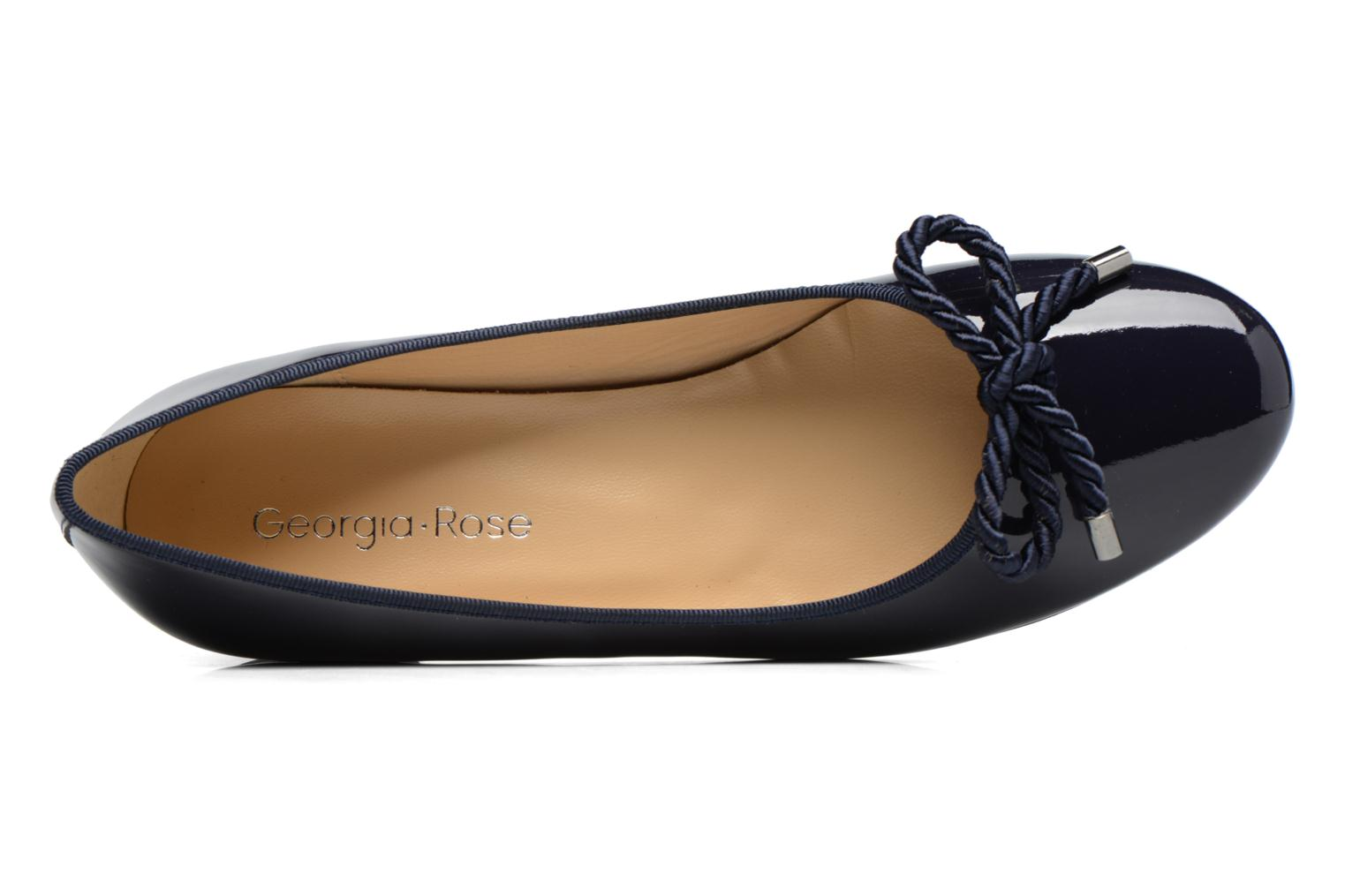 Ballet pumps Georgia Rose Sacouva Blue view from the left
