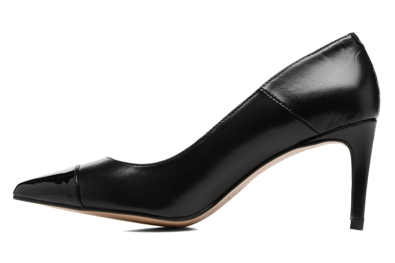 Zapatos de tacón Georgia Rose Sophia Negro vista de frente