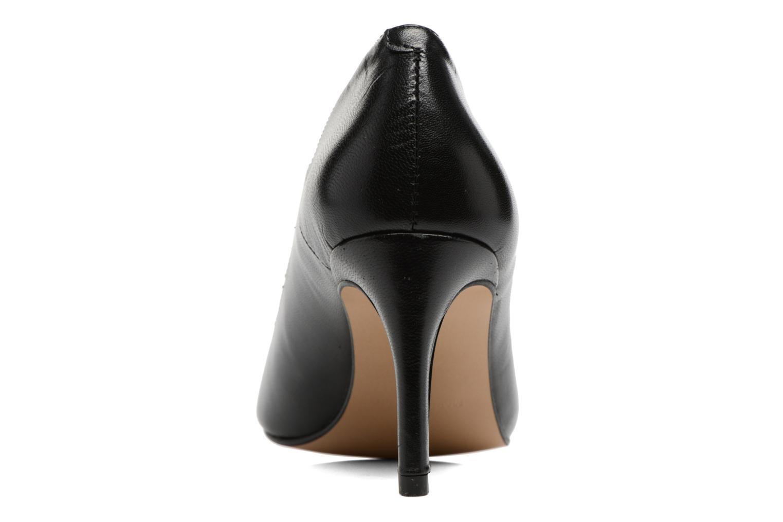 Zapatos de tacón Georgia Rose Sophia Negro vista lateral derecha
