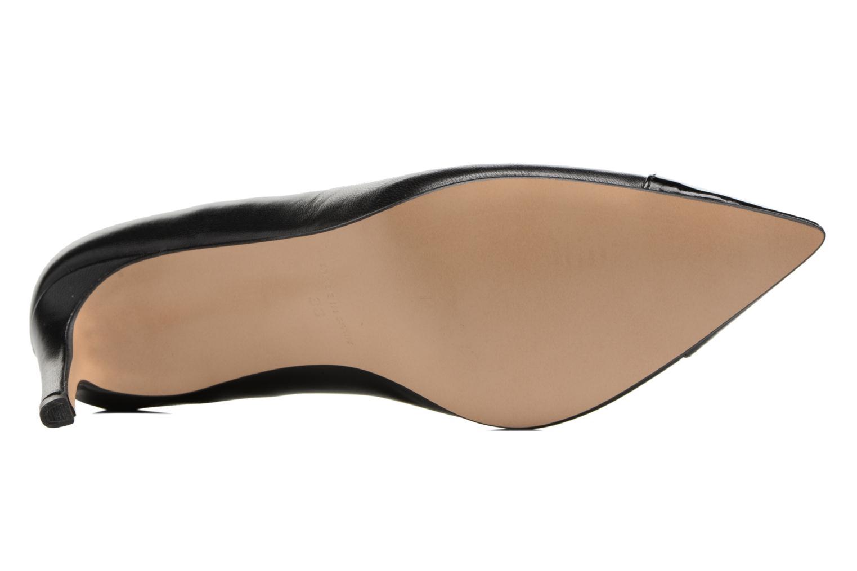 Zapatos de tacón Georgia Rose Sophia Negro vista de arriba