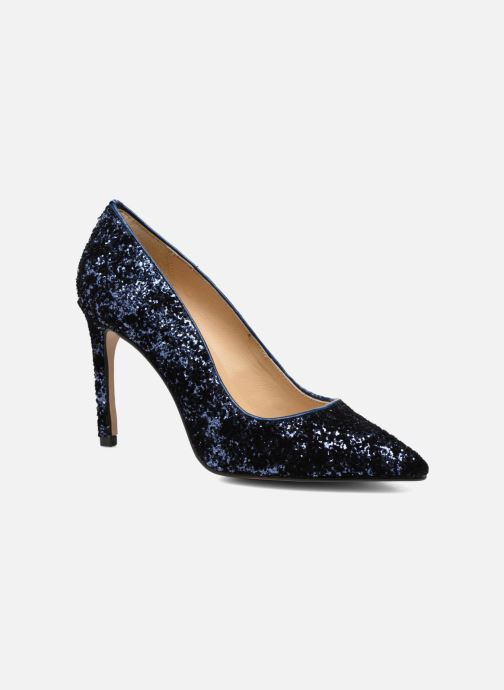 Tacón Georgia Zapatos Chez De 299939 Rose Shiny azul Sarenza XUTAq